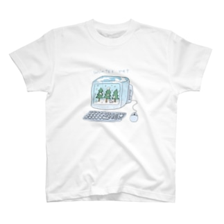 winter net. T-shirts