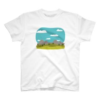 LandscapeMountain T-shirts