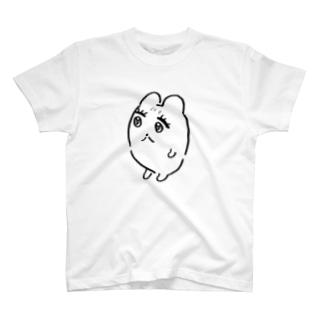 たたずむハム公ちゃん T-shirts