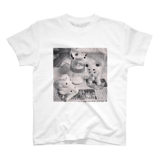 くま、あざらし、ミルクの妖精 T-shirts