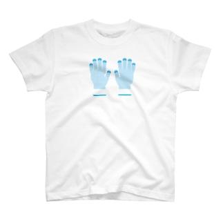 軍手 T-shirts