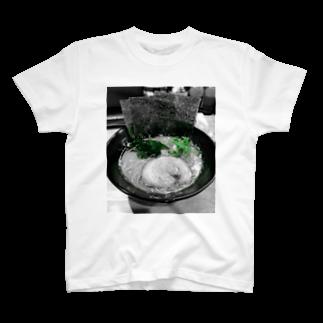 _haruyaaの醤油とんこつ T-shirts