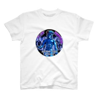 BLUE Emperorシンジver03 T-shirts
