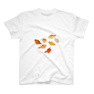 ポップなレオパ T-shirts