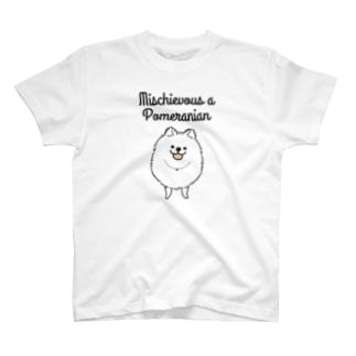 おちゃめなポメさん T-shirts