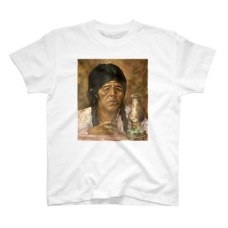 マテ茶のあの人Tシャツ T-shirts