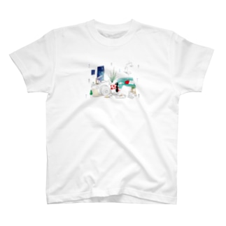 ちるとしふと/裏表紙 T-shirts