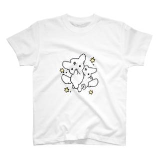 ふぃー犬ぶんしんのじゅつ T-shirts