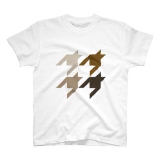 CHIDORI BRW T-shirts