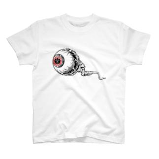 Skateboarding Japan Halloween eye! T-shirts