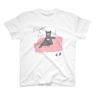 ロンリーベアー T-shirts