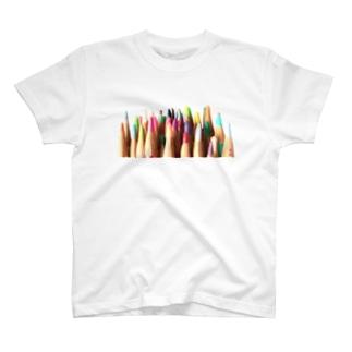 色鉛筆 T-shirts