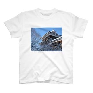 上田城(冬) T-shirts