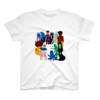 Characters T-shirts
