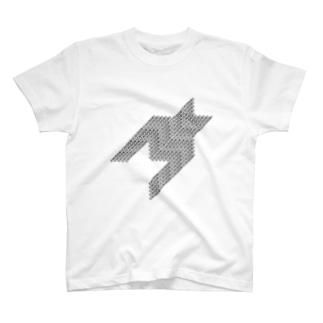 CHIDORIGHOSHI BLK T-shirts