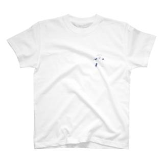 寝苦しい夜 negurushi ペットとの日常 T-shirts