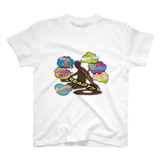 アニクラデザイン「I'm AnimeSong DJ!!」 T-shirts