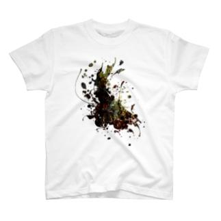ナチュラルスプラッタ T-shirts