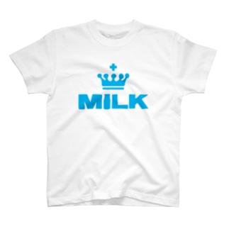 王冠MILK航空 T-Shirt