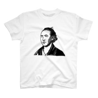 坂本竜馬のモンタージュ T-shirts