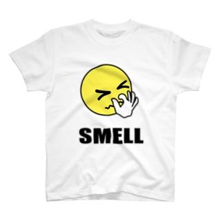 スメル君マーク 臭い T-shirts