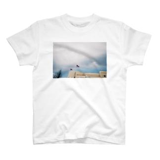 ぱたぱた星条旗 T-shirts