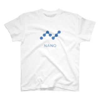 仮想通貨 NANO T-shirts