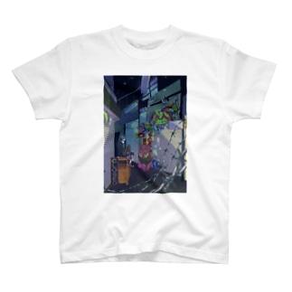 閉店後 T-shirts