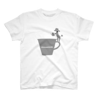 トイプードルのエダマメトイチcoffee大 T-shirts
