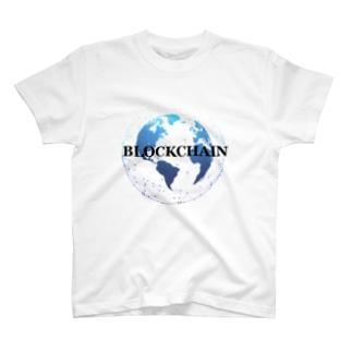 ブロックチェーン BLOCKCHAIN2 T-shirts