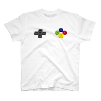 コントローラー ボタン T-shirts