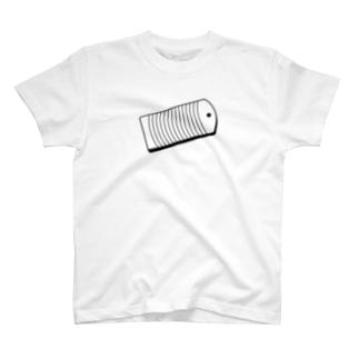 胸元に洗濯板 T-shirts