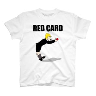 どうぞ!レットカード T-shirts