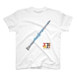 clarinet_logo_migisita T-shirts