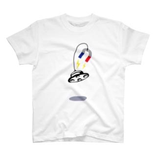 UFO 磁石 T-shirts