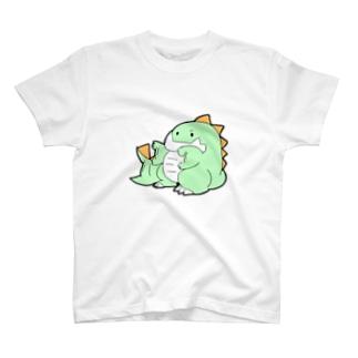 社畜ドラゴンのせかすしゃちどら T-shirts