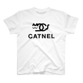 CATNEL キャット寝る 2018春夏モデル T-shirts