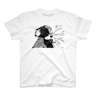 【感情に敗北】モノクロver. T-shirts