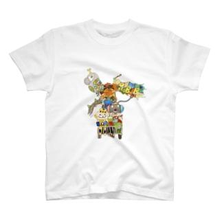 ROBOBO お出かけ T-shirts