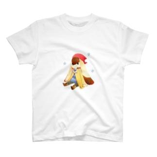 おすわり Tシャツ