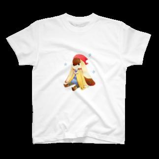 Tea Drop Sのおすわり T-shirts