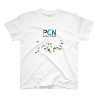 PCN in the World  Ver1.0.0 Tシャツ