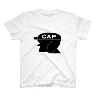 cap girl T-shirts