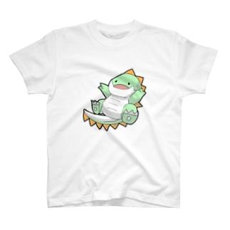 社畜ドラゴンのうれしいしゃちどら T-shirts