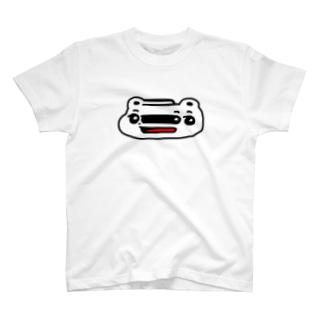 くまめ ワープする T-shirts