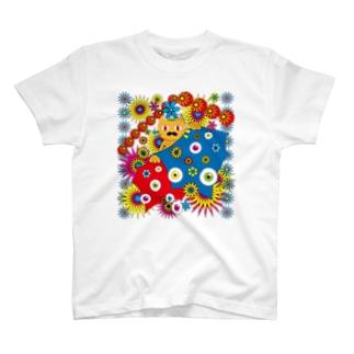 カラフルネコ様 T-shirts