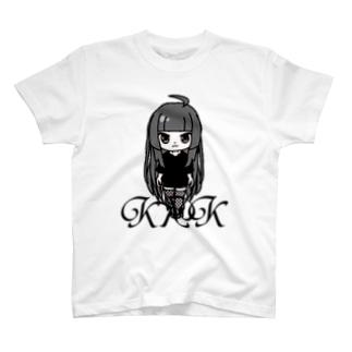 きくこモノクロシリーズ T-shirts