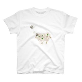 さみしいヒツジ T-shirts