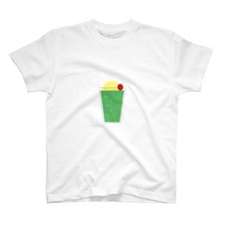 チープなクリームソーダ T-shirts