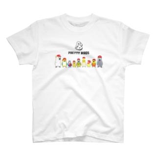 PRETTY BIRDS T-shirts